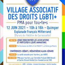 Village associatif des droits LGBTIQ+ à quimper